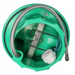 Abreuvoir électrique chauffant à palette inox STALCHO 50W