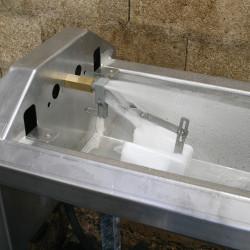 LACABAC 72 Bloc-flotteur en tôle inox 72 l./min