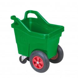 Chariot 140 litres réhaussé pour aliments