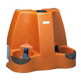 Abreuvoir double à réserve tampon de 130 litres CALORIX