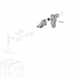 ENSEMBLE GICLEUR/PORTE CLAPET ROB 72 L/MN