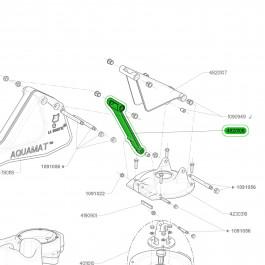 Biellette de rechange pour pompe de prairie AQUAMAT II