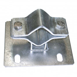 Fixation d'abreuvoir sur tube Ø50 à 75 mm