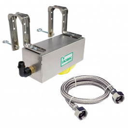 LACABAC avec tresse Lg.600mm Bloc-flotteur gros débit avec flexible
