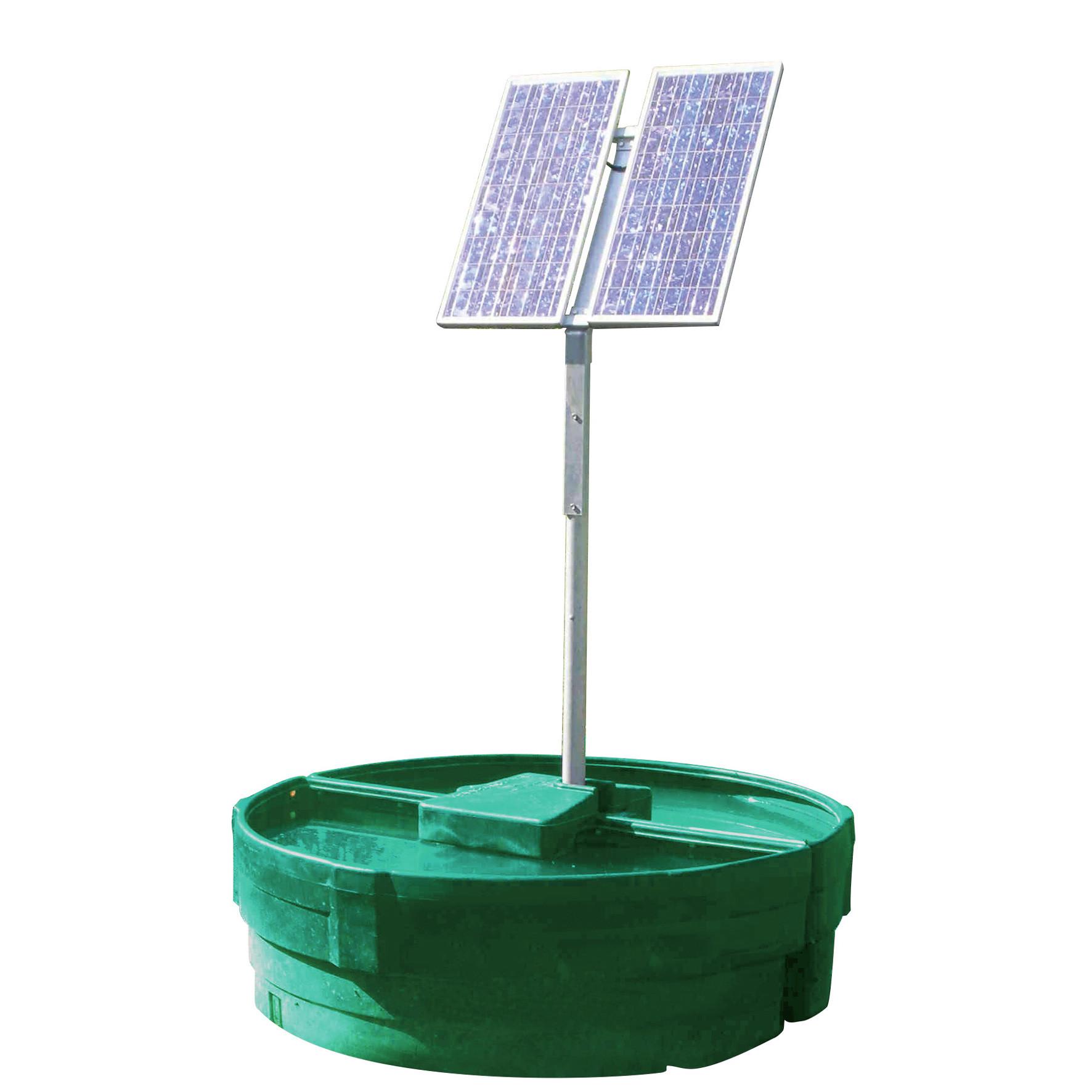 Abreuvoir à pompe solaire SOLAR-FLOW 1500 L