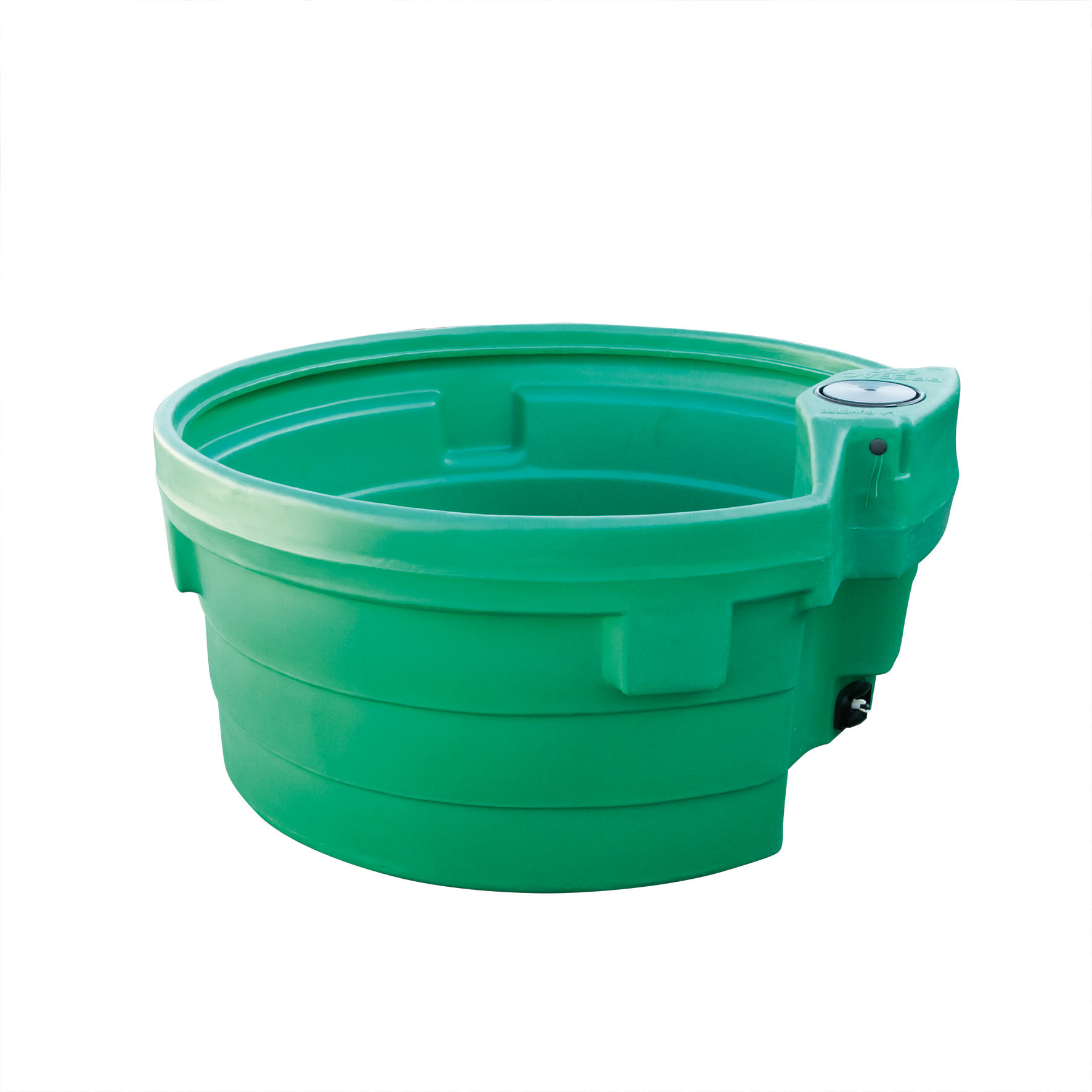 Bac abreuvoir pâturage 600 l PREBAC circulaire vert