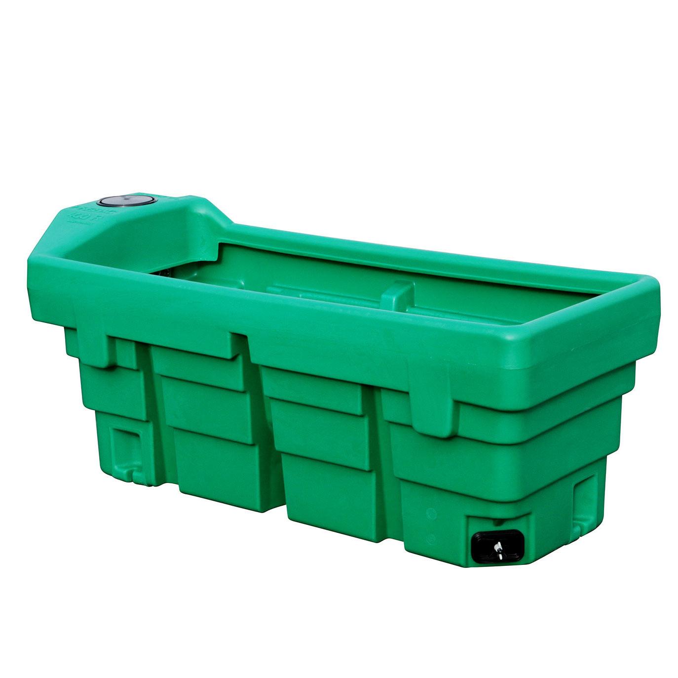 Bac de p ture rectangulaire prebac 400 litres for Bac a poisson 2000l