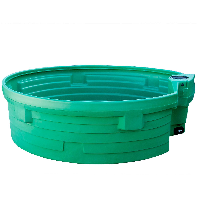 Bac de p ture circulaire prebac 1500 litres for Bac a poisson 2000l