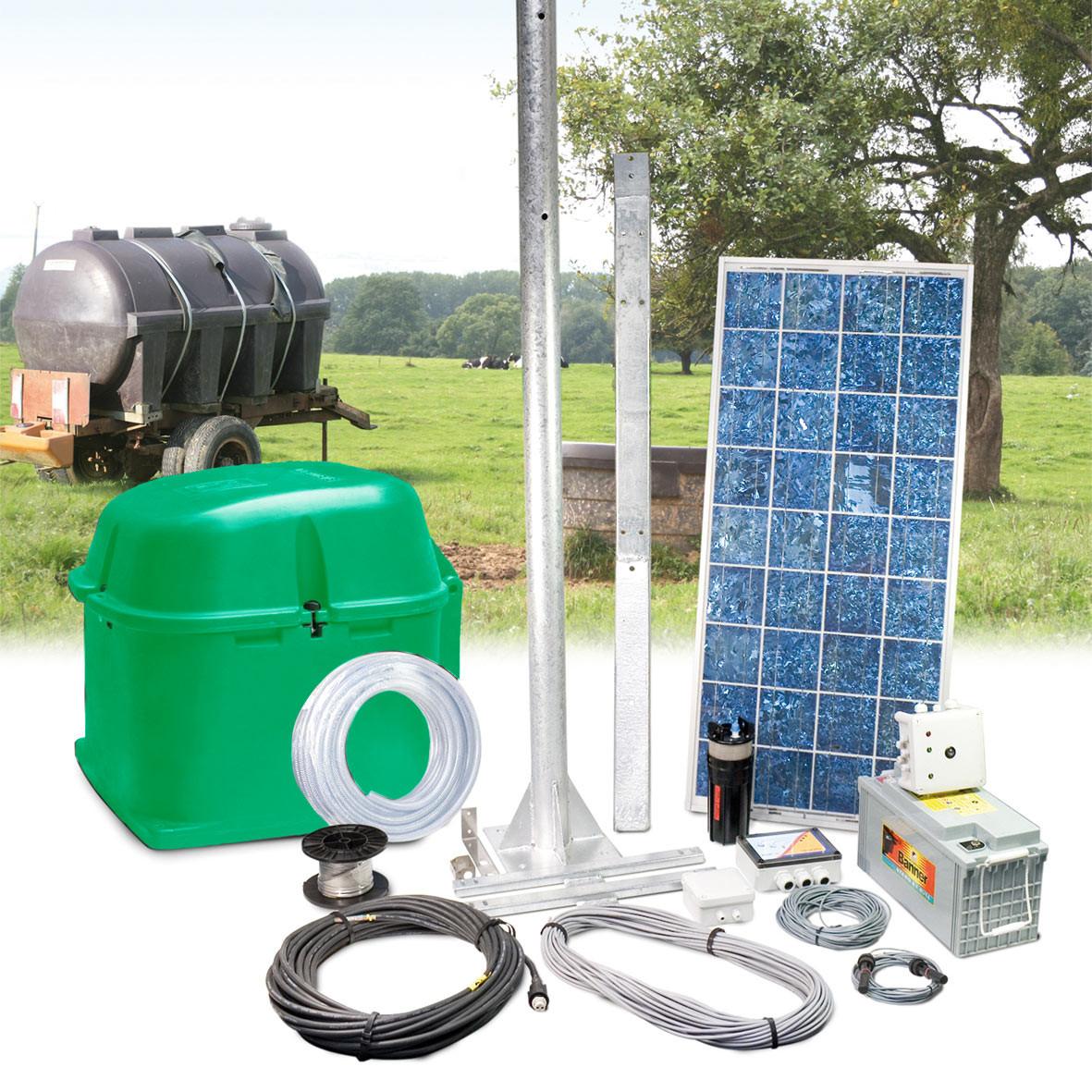 Solar pump station SOLAR-FLOW STORAGE 12 V