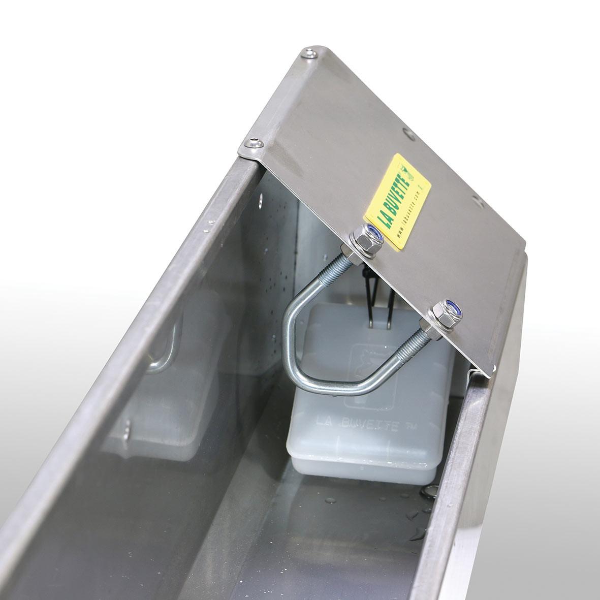 OVICAP INOX 120 flotteur grand débit bien protégé
