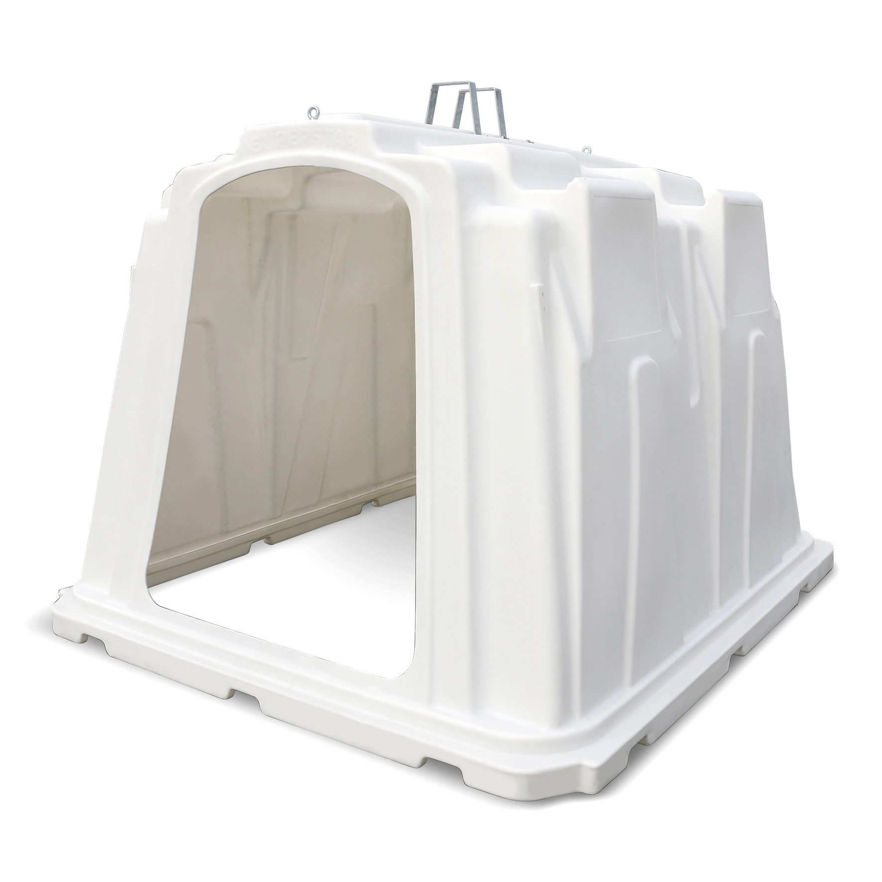 SUPERSTAR One-Piece HDPE Hutch For 5 Calves