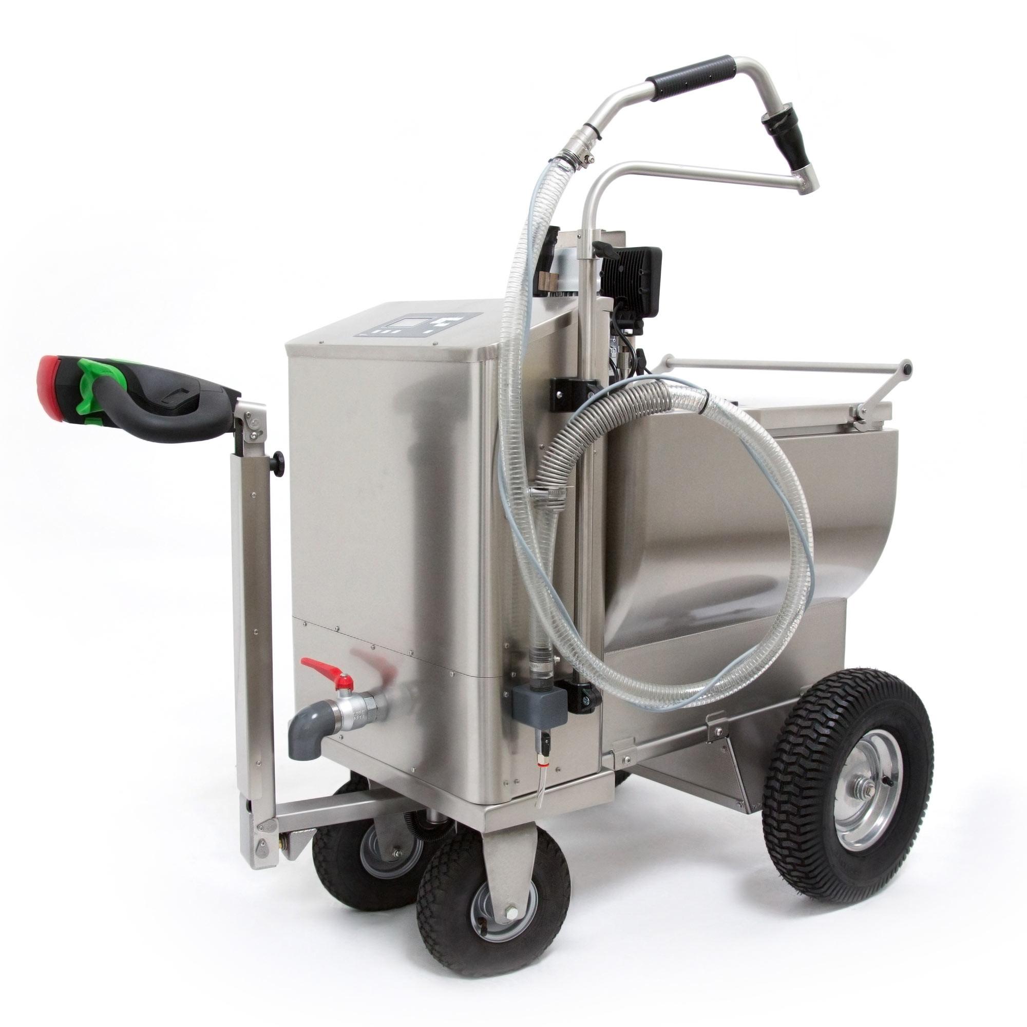 Chariot à lait LA BUVETTE MILCHMOBIL 4x4 120 litres
