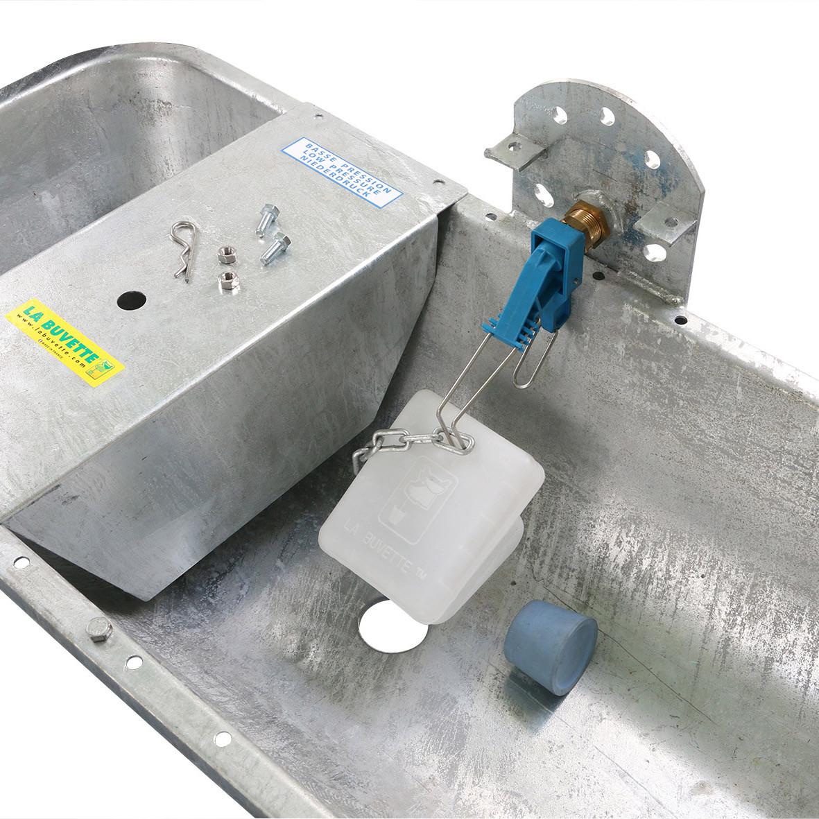 GALVALAC 65T robinetterie à flotteur et vidange