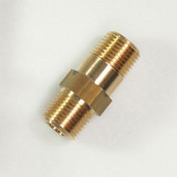 COQUE RACC. DROIT LT MM 1/2 Rallonge laiton l. 55 mm
