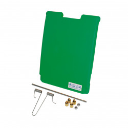 Kit 1 porte POLYSTALL en polyéthylène double paroi