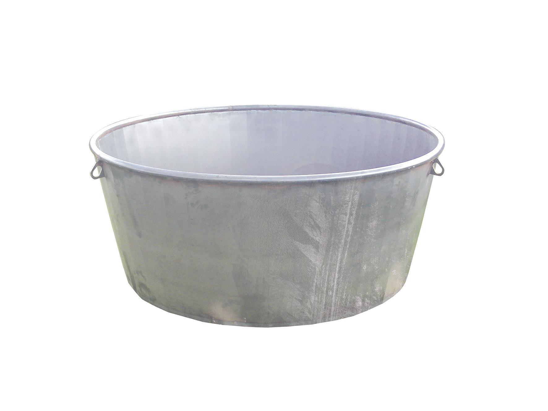 Bac de pâture galvanisé 1000 L